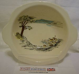 Midwinter 'Riviera' 6 inch Bowls - 1950s SOLD